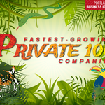 Fastest-Growing Private 100 Companies Awards