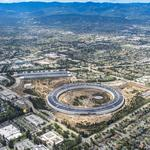 Latest Apple Park drone video shows $5B campus is almost done — complete with tennis courts