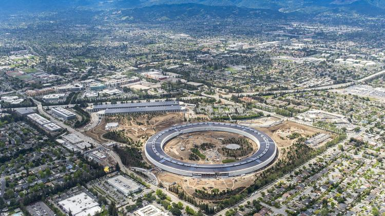 Apple Park The Tech Giants 28 Million Square Foot Megacampus In Cupertino