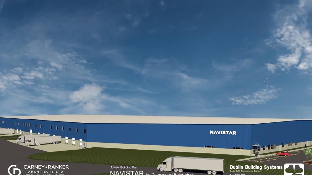 New Navistar distribution center to break ground - Dayton Business
