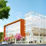 Bay Meadows digs in on third office building