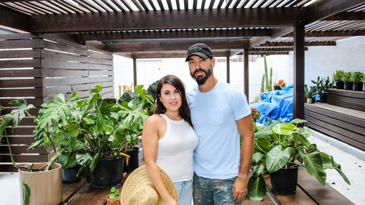 Megan And Robby Wages Owners Of The Fancy Free Nursery In Tampa Heights Click