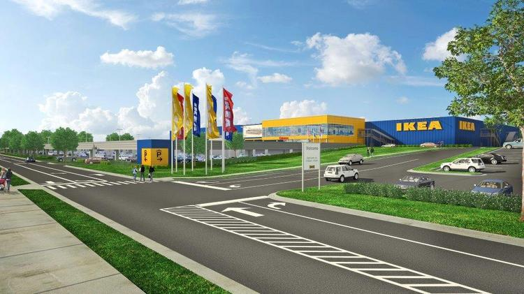 Ikea confirms time frame for next n c store charlotte for Ikea st paul mn