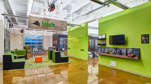 Cool Offices: Irish Titan decks out former Nestlé factory with 'bat pole'