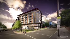 Revamped apartment project along Key Highway gets another look