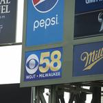 Channel 58 assumes Miller Park video board sponsorship