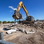Sears demolition underway at Orlando Fashion Square mall