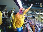 Slideshow: Behind the scenes of Game 3 vs. the Anaheim Ducks with Predators Chairman Tom Cigarran