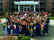 Market America employees pause for a group photo.