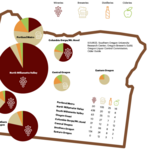 Raise a glass to Oregon's top job creator: the alcohol cluster (Infographics)