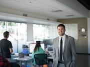 Freestar co-founder and managing partner David Freedman (right) stands in the company's fast-growing Phoenix office.