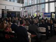 Panelists spoke about waterfront development during the BBJ's Future of Baltimore's Waterfront event Friday.
