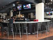 Handcrafted Draft House and Sports Bar is on the first floor of Johnny Rockets.