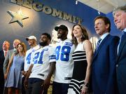 The Dallas Cowboys officially opened Cowboys Fit at the Star in Frisco.