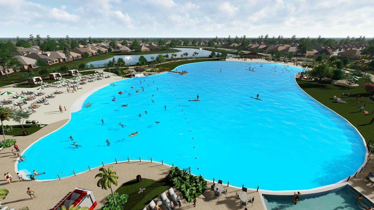 Land Tejas announces new Crystal Lagoon in Texas City - Houston