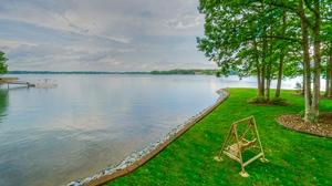 Private Lake Norman Waterfront Retreat on 1.29 Acre Point