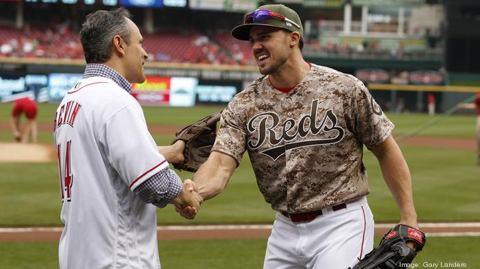 Local business leaders, Ky. governor mingle at Reds game: PHOTOS