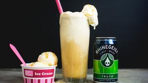 Rhinegeist, UDF partner on beer-inspired ice cream