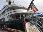 Super-yachts stop in Seattle before heading south for winter