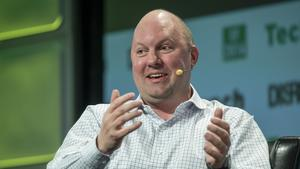 Tesla is just like Apple, Marc Andreessen says, except he's not sure which Apple