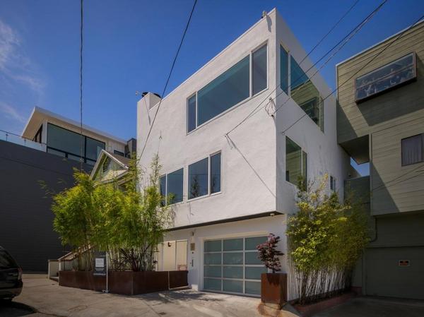 Contemporary 3BR/2BA Three-Level Potrero Hill Home with Views, Garden, Garage