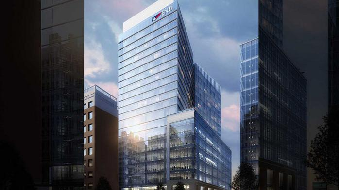 F.N.B.'s regional HQ to anchor new 22-story tower in Raleigh