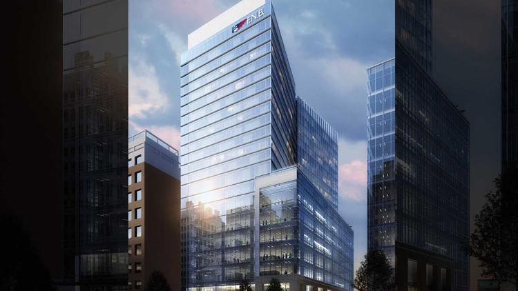 FNB Bank to anchor downtown Raleigh's new 22-story tower