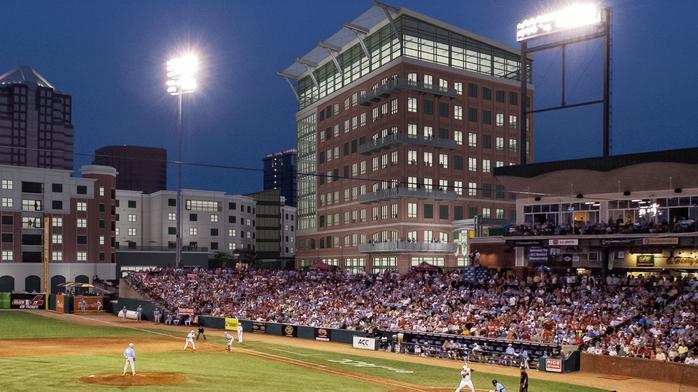 BREAKING: 9-story office building planned next to Greensboro baseball stadium