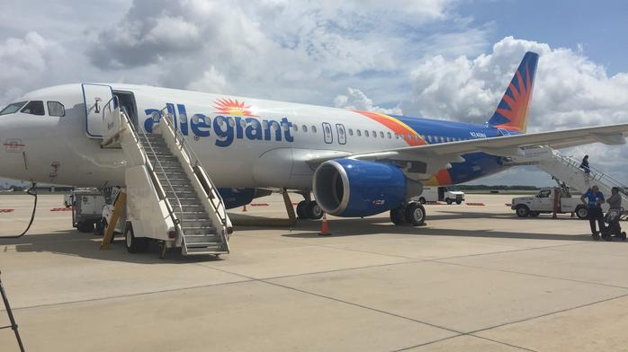 Get an inside look at Allegiant's newest Airbus plane