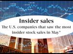 Corporate insiders sold $4B in stock in 30 days. Here's who was selling.