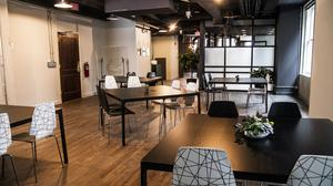 Look inside downtown's art-infused coworking space