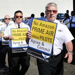 Amazon's shareholder meeting: Protests, politics and produce (Photos)