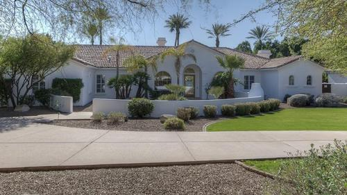 Gorgeous Gated Residence Perfectly Situated at the Base of Camelback Mountain
