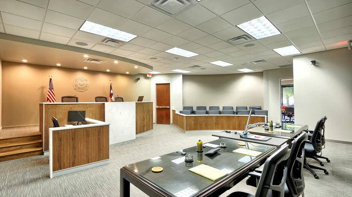 Meticulous mock courtroom could help attorneys with trial prep, dispute resolution