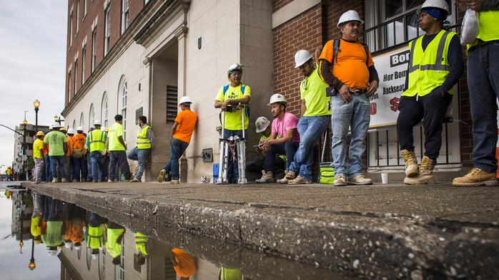 Omni workers walk off Louisville site amid wage dispute