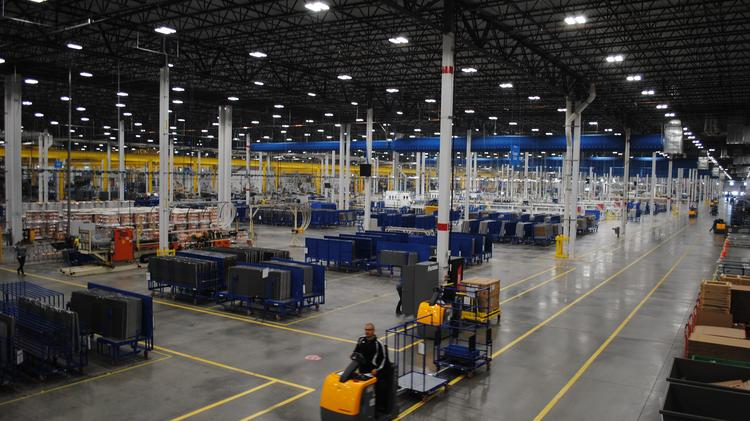 Daikin Industries Ltd.'s new 4 million-square-foot facility in Waller County. Eventually, the facility will employ more than 4,000 people.