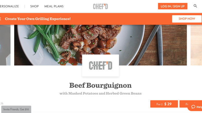 Campbell Soup invests $10 million in Chef'd
