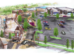Retail village on deck at Centerville development