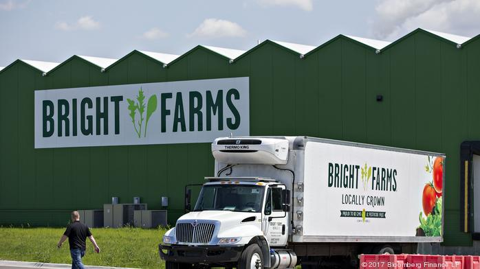 Greenhouse farm operator BrightFarms aims to become a national brand for local produce