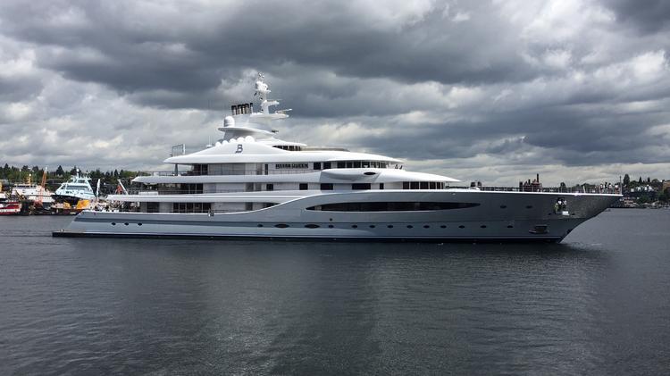 Mexican mining billionaire's mega yacht 'Mayan Queen IV