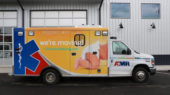 Oishei Children's hospital teams with AMR for new neonatal ambulances