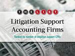 The List: Litigation Support Accounting Firms