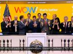 WOW makes its debut on New York Stock Exchange