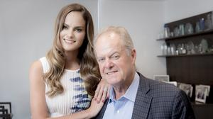 With daughter at side, Manny Medina launches his next tech venture in S. Fla.