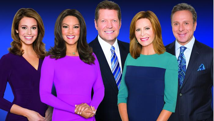 WLS-Channel 7's 10 p.m. anchor team is all smiles because their newscast topped all others in the Chicago market in the 2017 May sweeps ratings book.