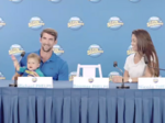 Michael Phelps, in latest endorsement deal, is 'training' with his baby
