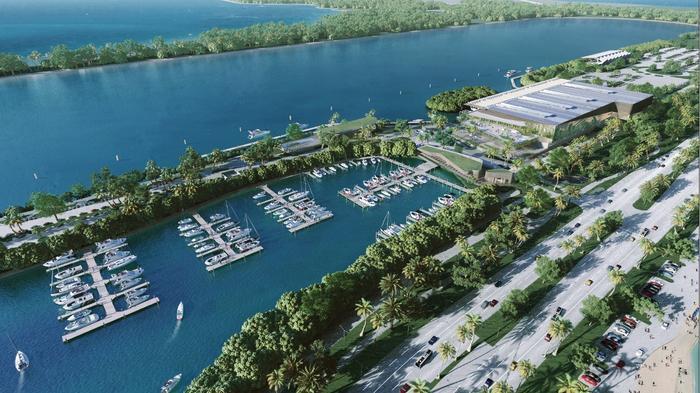 Three firms bid to redevelop Miami marina