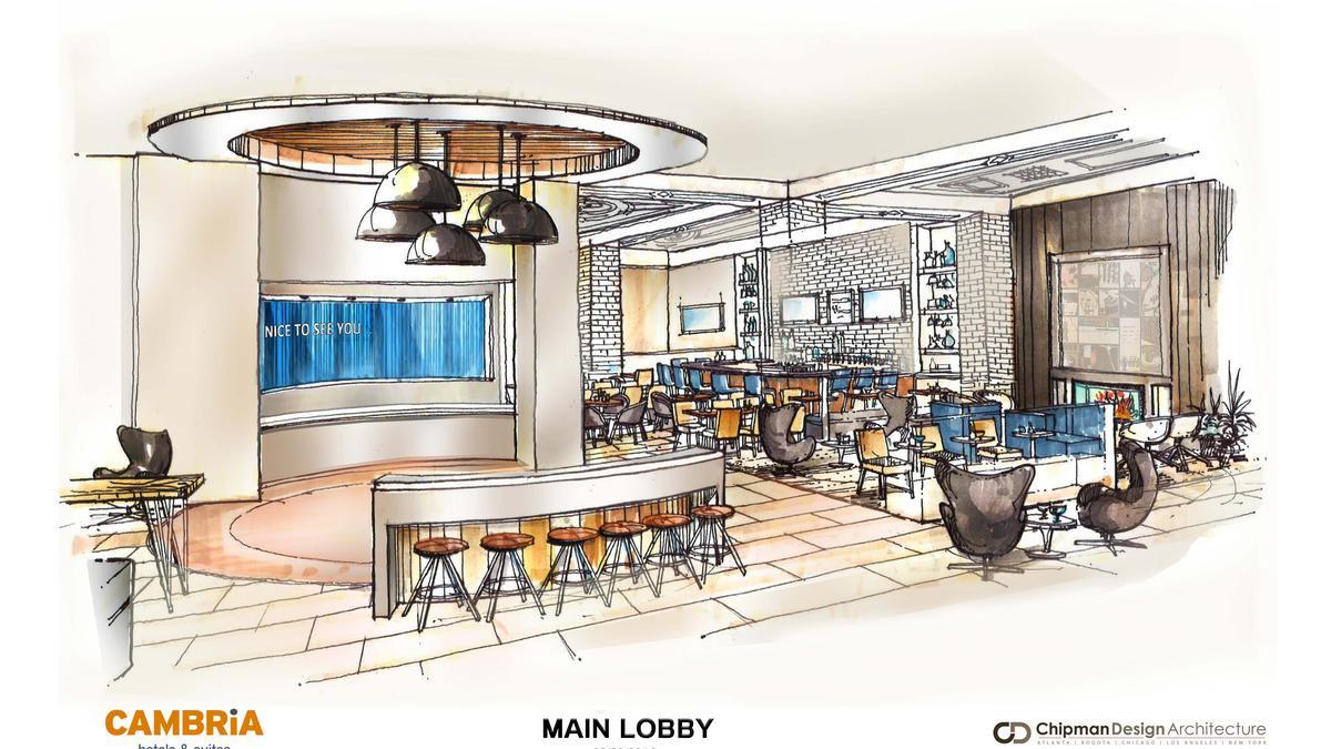 Αποτέλεσμα εικόνας για Cambria Hotels opens its second Chicago property in the Loop - Theatre District