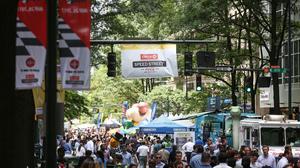 PHOTOS: Speed Street gets underway uptown