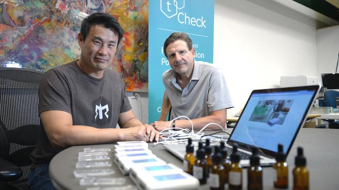 Rocklin entrepreneurs rebrand THC tester after being dropped by payment processor